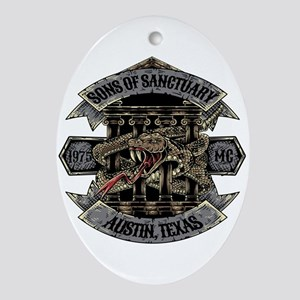 Sons of Sanctuary Oval Ornament